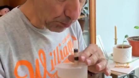 第一次喝珍珠奶茶