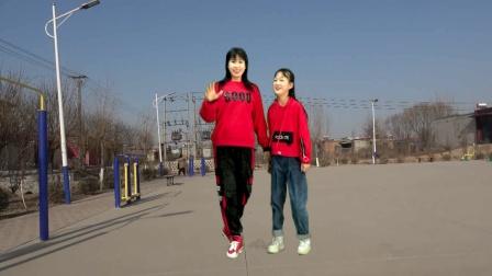 双人对跳16步教学《你跳舞的样子是最美》减肥弹跳