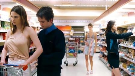 小伙意外发现能让时间停止,于是他来到了超市!