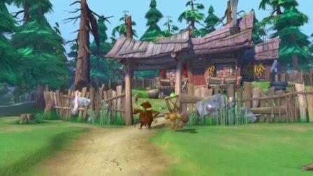 熊出没:猴子去光头强家里送礼,没想到光头强没在家!