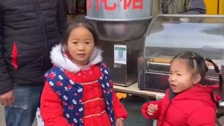趣味童年:吃棉花糖呀!