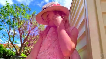 萌宝小萝莉,身上太臭了有好多蚂蚁,还是回家换身漂亮衣服吧!