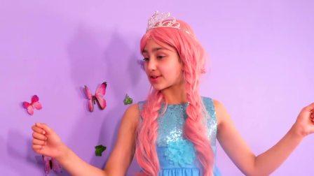 儿童亲子互动,两个公主想要同样的衣服!帮帮她吧