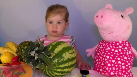 萌宝游戏,娜斯提亚和猪百事可乐的故事,太有意思了
