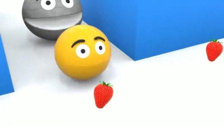 儿童卡通片:吃豆人被怪物吃豆人关进笼子里,怎么办呢?
