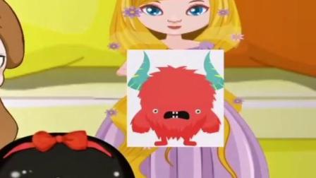 亲子互动:贝尔和长发的卡片都变成了怪兽