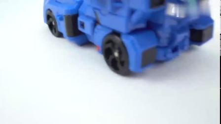有趣益智玩具:弗特二代机甲不敌雷机甲,升级变行为三代机甲