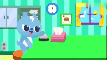 有趣益智玩具:弗特吃汉堡学英文好开心