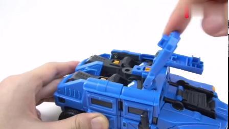 有趣益智玩具:弗特的五炫机甲真的好酷啊