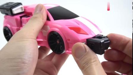 有趣益智玩具:特工队X创世机 是四个机甲玩具组成的