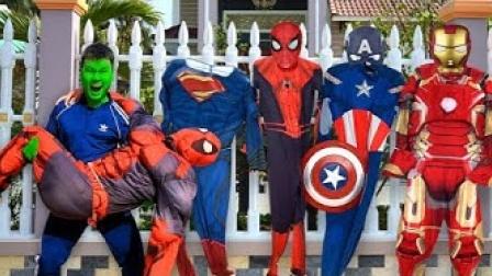 真人特效恶搞:小伙变身超级英雄拯救超级英雄!