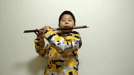 王博竹笛四级练习曲二