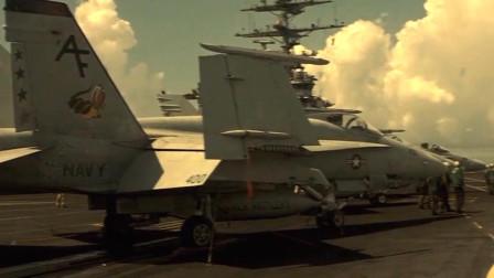 这部战争巨制甚至出动了核动力航母协助拍摄,战争场面太生猛