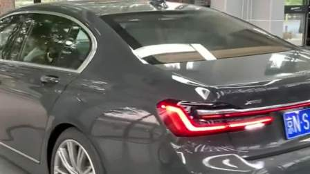 宝马全新7系的亮点设计,看到它的尾灯,奔驰都羡慕了!