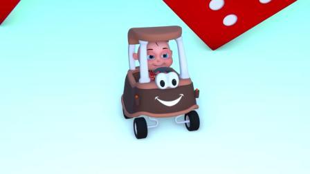 颜色学习小宝宝玩彩色糖果机