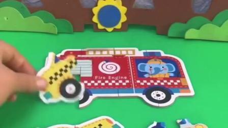 鳄鱼夹子叫消防车去救火,可车的轮子不见了