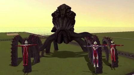 GMOD怪兽抓走了三个奥特曼,这到底是什么怪兽?