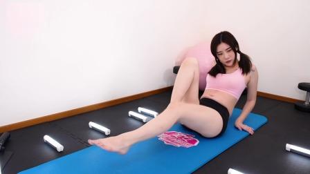爆汗瑜伽,练小腹,练美腿,一起减肥吧(伊娃)