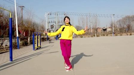 广场舞《缘分来了爱上你》32步很火,更跳出好身材