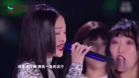梦然携张韶涵再次演唱《少年》,现场活力满满,唱的太好听了!
