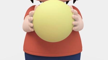 平衡颜色球益智动画育儿亲子