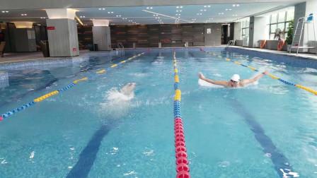 中游体育:一分钟看懂两种蝶泳划水路线的区别
