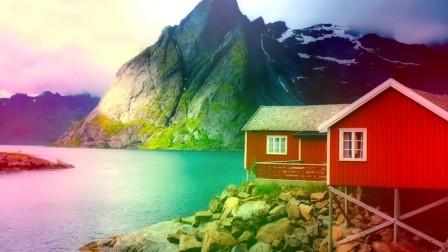 4K- 挪威的惊人景光,太漂亮了!
