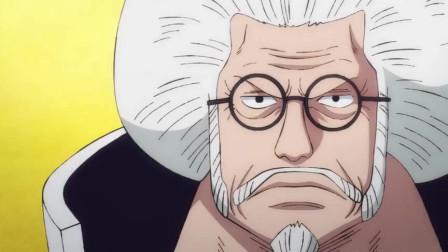 海贼王:卡普之所以被称为海军英雄,是因为他终结了洛克斯!