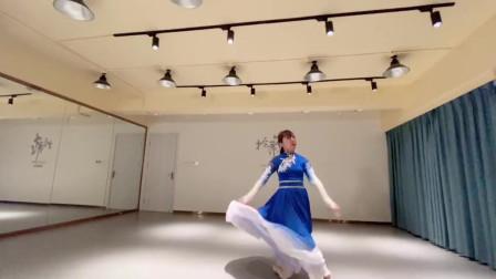 练习版民族舞《月光故乡》草原给我歌声的翅膀飞翔的梦心中的向往