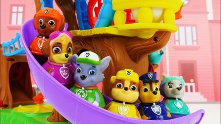 汪汪队立大功探险魔法玩具,遇到神奇火车?
