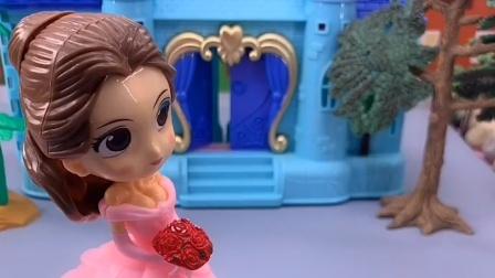 王后把贝儿赶出来了,她想去乔治家睡,乔治不愿意