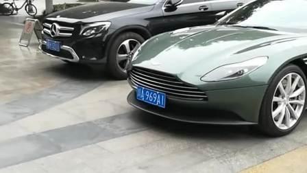 英伦绅士—阿斯顿·马丁 DB11就是这颜色有点
