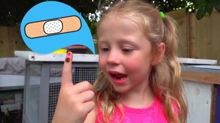 儿童亲子互动,娜斯佳的魔法箱子到底装了什么东西,太有意思了