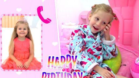 萌宝游戏,史黛西为娜斯提亚的生日盛装打扮,太有意思了