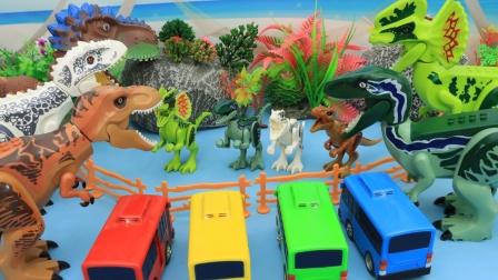 恐龙妈妈寻找走丢的小恐龙们