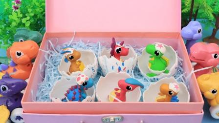 盒子里的恐龙蛋 里面住着哪些恐龙呢?