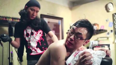 大鹏:我被人打了,给我纹一个霸气的纹身