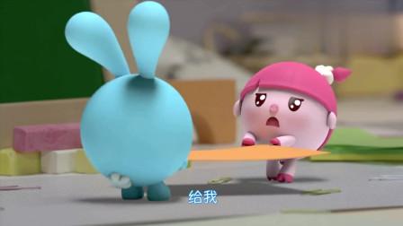 瑞奇宝宝:宝宝们真聪明,文文刚拼出形状,就被宝宝们认出!