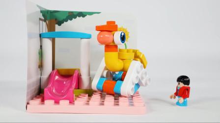 在家就能玩遍主题乐园,儿童过家家益智玩具