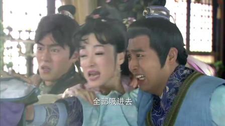 妖风太猛烈,李靖霸气丢出玲珑塔,没想到瞬间被吹飞了,李靖懵了