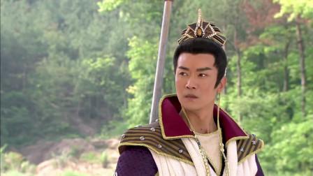 赵公明以一敌三,也就杨戬勉强能接下两招,不愧是截教第一高手!