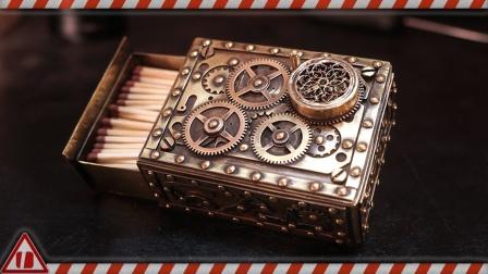 蒸汽朋克火柴盒,太帅了!
