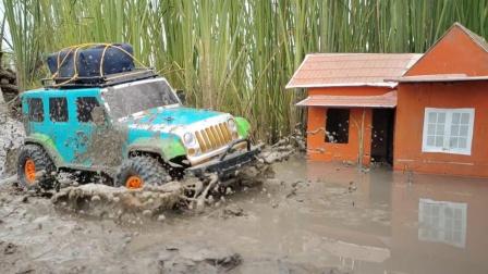巨轮越野车玩具外出探险