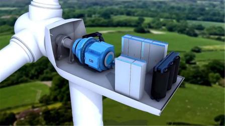 风力发电机转速那么慢,为什么还能发电?