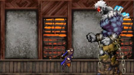【逐梦】NDS《恶魔城 被夺走的刻印》困难实况8 巨人之家 BOSS巨人兵