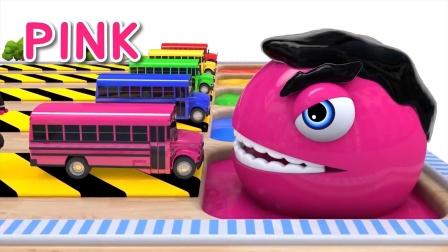 自制吃豆人:小豆子给咱们的大巴玩具车染上了颜色