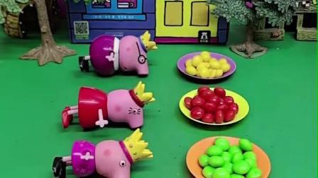 乔治睡醒后,竟然把所有人的糖果全吃啦!