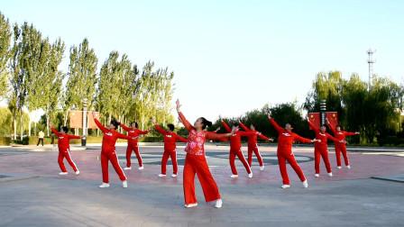 民族风广场舞 舒展大方  编舞:美久导师, 表演:绿叶广场舞