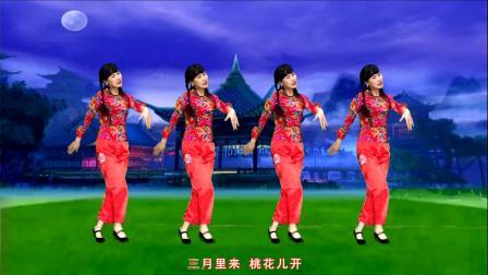 秧歌舞《DJ虹彩妹妹》阿宝演唱,网红32步附教学