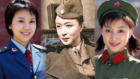 中国军营十大美人,闫妮、金星、殷桃均上榜